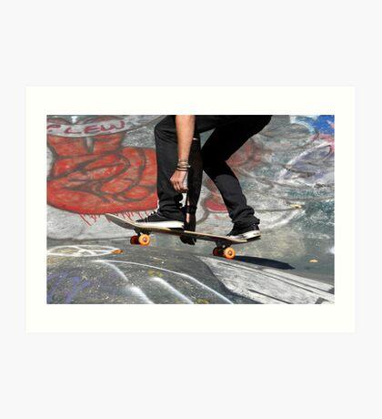 Skate Boarding Art Print