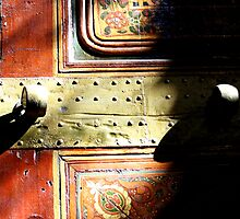 A door on abstract by monaiman