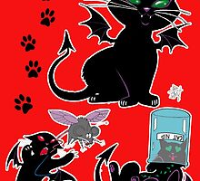 Pooka the Goblin Cat by BooCat