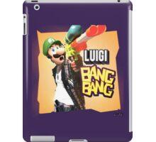 Luigi BANG BANG iPad Case/Skin