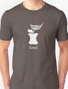 iDied - White T-Shirt