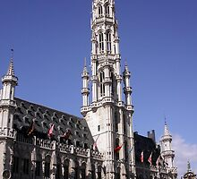 Brussels Townhall by bubblehex08