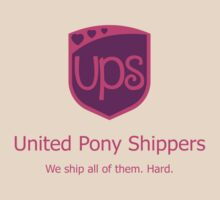United Pony Shippers T-Shirt