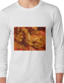 Curling Tulip Abstract 21 Long Sleeve T-Shirt
