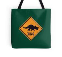 Prehistoric Xing - Triceratops Tote Bag
