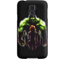 MARVEL - Black Widow and Hulk Romance Samsung Galaxy Case/Skin
