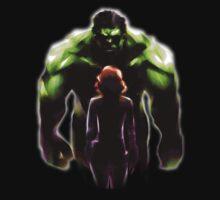 MARVEL - Black Widow and Hulk Romance Kids Clothes