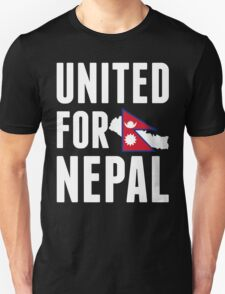 UNITED FOR NEPAL - Earthquake In Nepal T-Shirt