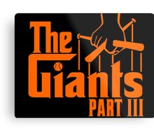 The GIANTS Metal Print