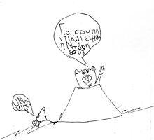 Beaver Meets Rat by Fotis
