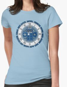 Doctor Who Legacy - 13 Doctors Womens Fitted T-Shirt