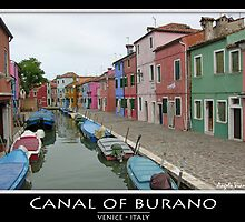 Burano Canal by Angelo Vianello