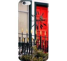 Ornate Metal Fence With Froufrou iPhone Case/Skin