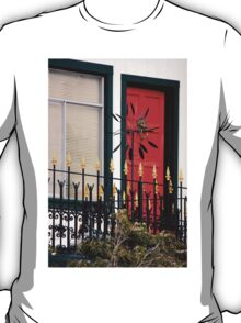 Ornate Metal Fence With Froufrou T-Shirt