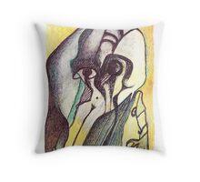Baile de Máscaras Throw Pillow
