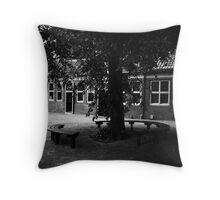 Shady Tree Throw Pillow