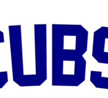 Let's Play Two! Cubs 2015 Sticker