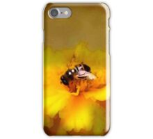 Making a Meal of a Marigold iPhone Case/Skin