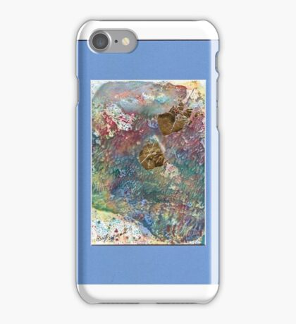 ENCAUSTIC MONOPRINT iPhone Case/Skin