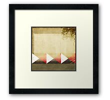 Argyle Wall Framed Print