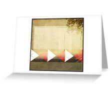 Argyle Wall Greeting Card