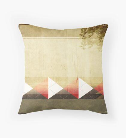 Argyle Wall Throw Pillow