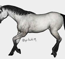 Grey Stock Horse by RaptorGirl