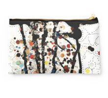 Original mixed media abstract art - gatekeeper: dot - by: thecheekypixel  Studio Pouch