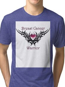 Breast Cancer Warrior Tri-blend T-Shirt