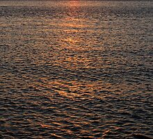 Long Island Sound Sunset   Miller Place, New York  by © Sophie W. Smith