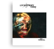 LYCANTHROPY CURSED THE PREQUEL COMIC COVER Canvas Print