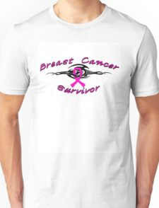 Breast Tribal Survivor Unisex T-Shirt