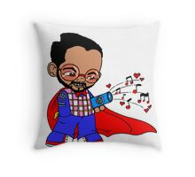 For Black Eyed Peeps Throw Pillow