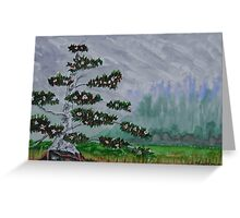 The Legend of the White Bird Tree Greeting Card