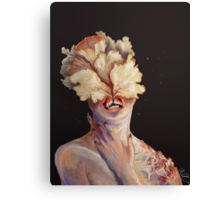 nude portrait Canvas Print
