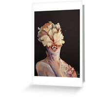 nude portrait Greeting Card