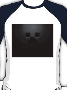 Minecraft Black Creeper T-Shirt