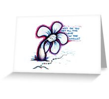 All The Love Flowerkid Greeting Card