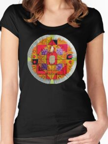 Stain Glass c Women's Fitted Scoop T-Shirt