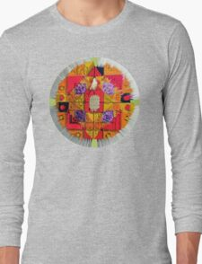 Stain Glass c Long Sleeve T-Shirt