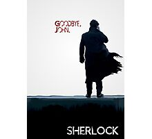 Sherlock : Goodbye John Photographic Print
