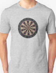Isolated Dart Board Unisex T-Shirt