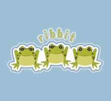 Ribbit - Blue Kids Tee