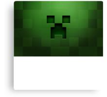 Minecraft Green Creeper Canvas Print