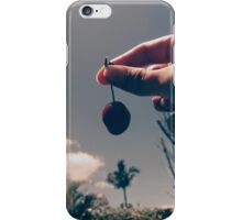 cherry in the air iPhone Case/Skin