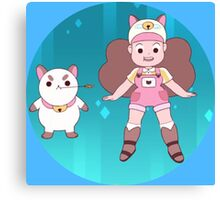 Bee and Puppycat Canvas Print