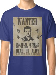 Wanted Captain  Classic T-Shirt