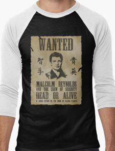 Wanted Captain  Men's Baseball ¾ T-Shirt