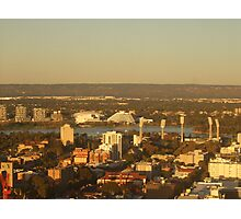 East Perth - Burswood. St Martins Tower. Perth. Photographic Print