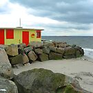 Beach Shop at Salthill - no.2 by Orla Cahill